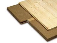 Pavatherm NK Floor      Support et système de fixation pour plancher en lames de bois massif, intégrant une isolation thermique et phonique