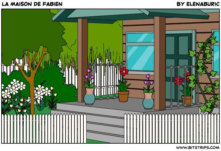 la maison de fabien pr sentation multim dia vocabulaire pi ces de la maison adjectifs. Black Bedroom Furniture Sets. Home Design Ideas