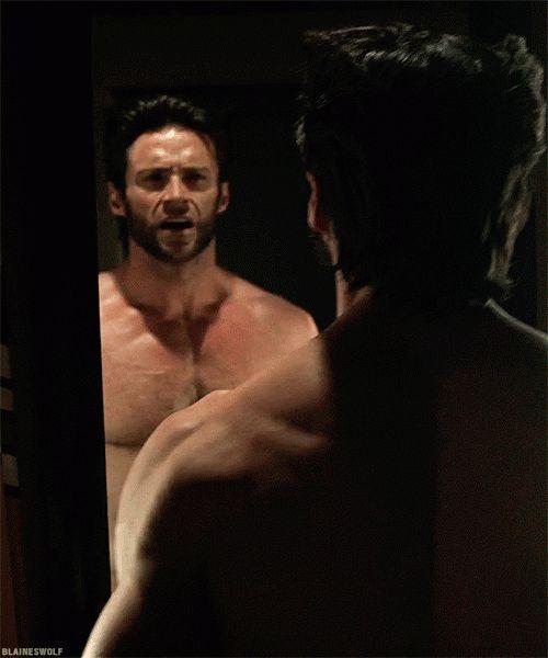 Tl Hoechlin Hugh Jackman In X Men Days Of Future Past