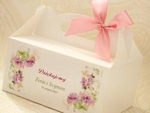 Pudełka na ciasto - Amelia wedding