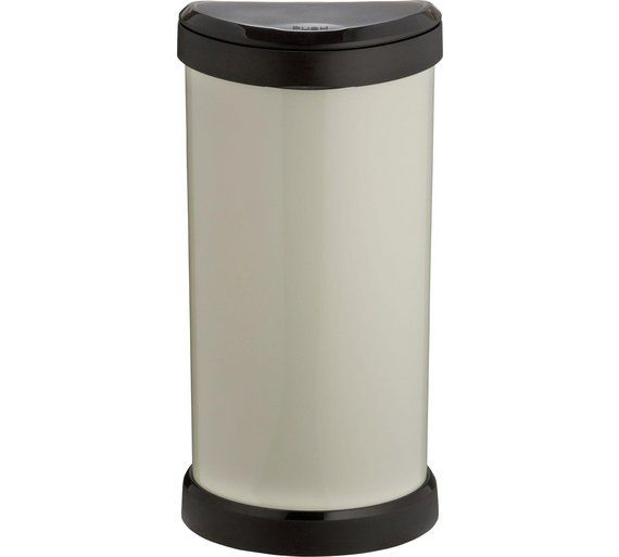 Buy Curver 40 Litre Touch Top Kitchen Bin - Ivory at Argos.co.uk - Your Online Shop for Kitchen bins, Kitchenware, Cooking, dining and kitchen equipment, Home and garden.