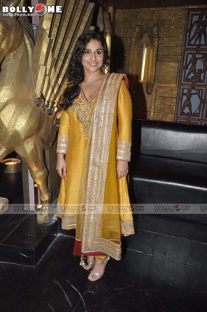 Golden girl Vidya.