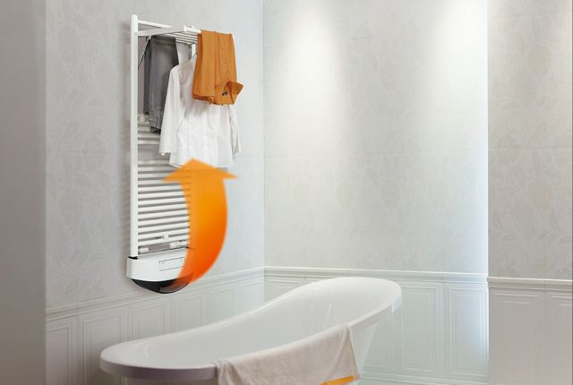 Termoventilatore super silenzioso per Dryer misto di #Deltacalor