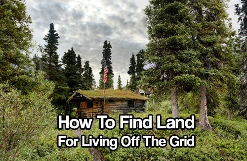 How to Find Land for Living Off the Grid. Thankfully, finding suitable land isn't difficult. The world is chalk full of empty spaces for you to browse