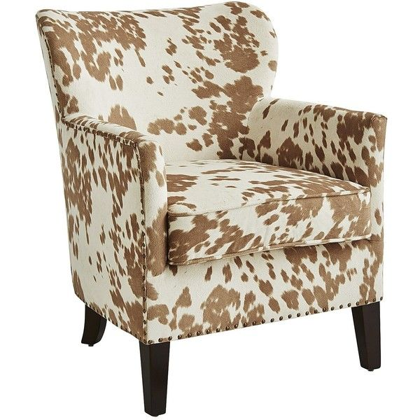 Pier 1 Imports Lyndon Chair - Tan (1.275 BRL) ❤ liked on Polyvore featuring home, furniture, chairs, accent chairs, parisian chair, mocha chair, nailhead trim chair, taupe accent chair and nailhead accent chair
