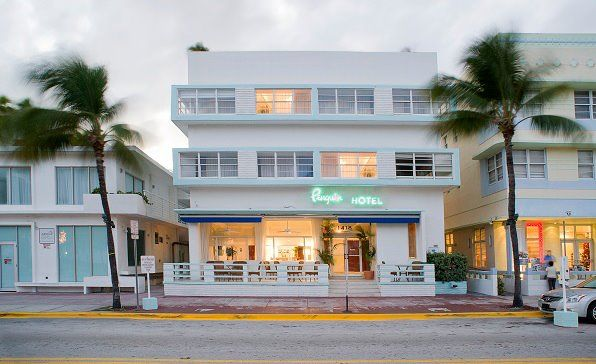 South Beach 14th Ocean Penguinhotel The Penguin Hotel Is An Oceanfront In Miami Histo