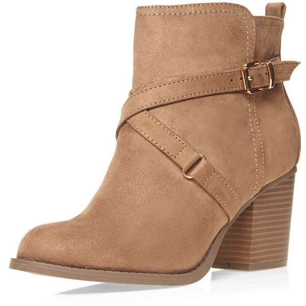 Dorothy Perkins Wide fit nude 'Wava' boots ($37) ❤ liked on Polyvore featuring shoes, boots, ankle booties, neutral, wide ankle booties, nude ankle boots, block heel boots, short boots and dorothy perkins