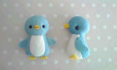 シートフェルトのマスコット~ペンギン~