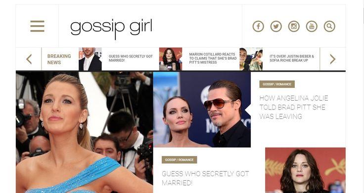Top 15 Celebrity Gossip WebSites!