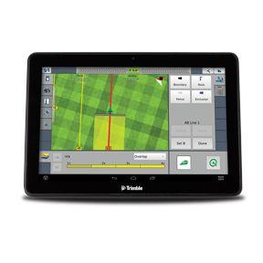 Pantalla GPS TMX-2050 para montar en tractor. Agricultura de precisión y vehículos autónomos.