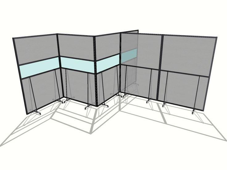 MACRO VELA - Pannelli divisori, pareti mobili, separè su ruote, schermi flessibili, progettazione, produzione e vendita - Clipper System #divisorio #industria