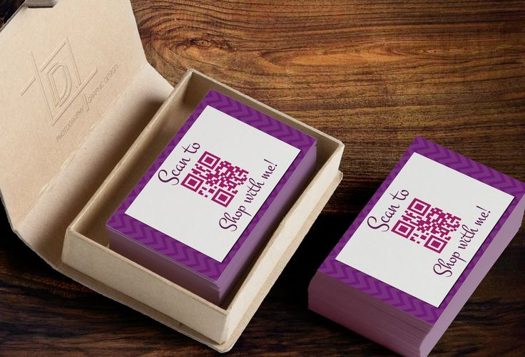 Jamberry QR Code Business Card Template - Independent Consultant Busin – digitaldetours