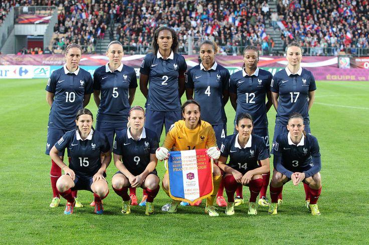 425 best equipe de france f minine de football images on - Prochaine coupe du monde de football ...