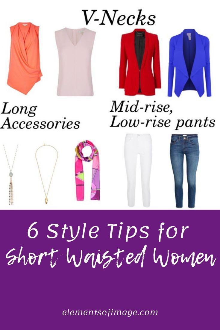 6 Style Tips for Short Waisted Women | Dress for short women