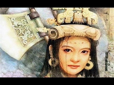 dinastía shang - La princesa Fu Hao, general de la dinastía Shang,uno de los mayores miembros de su especie, devota madre y esposa fiel, del Rey Guding (1250 - 1191 aC.) madre del príncipe Shang llamado Jie. llegó a ser sacerdotisa del oráculo en la lectura de los caparazones y huesos