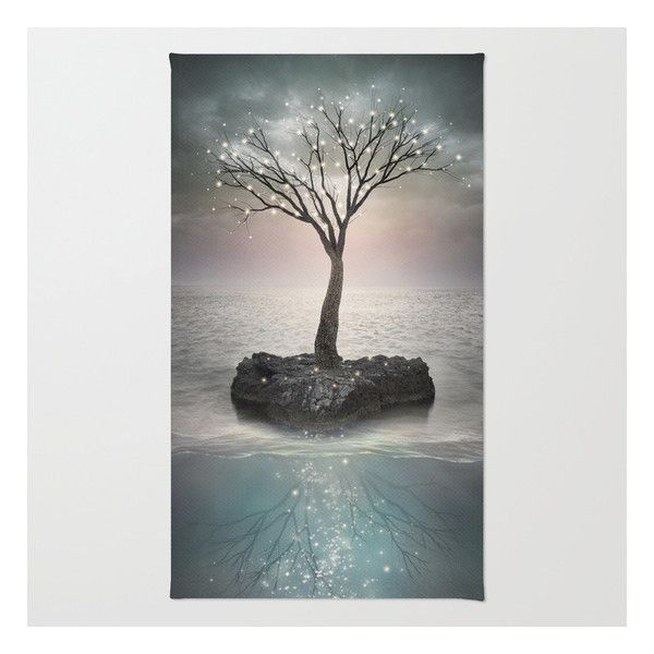 Roots Below The Earth (tree Of Solitude) Rug ($28) ❤ liked on Polyvore featuring home, rugs, machine wash rugs, non skid area rugs, zig zag rug, chevron pattern rug and machine washable area rugs
