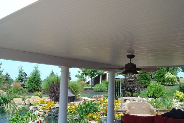 Under Deck Patio Ideas Thread Outdoor Patio Soffit