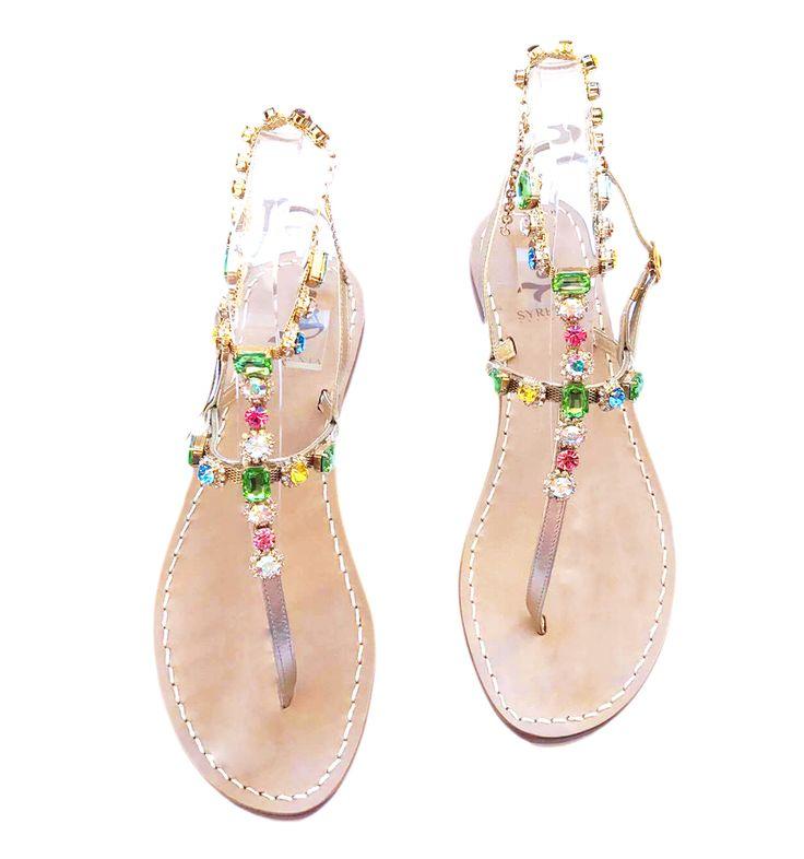 Cavigliera gioiello - infradito gioiello - fatto mano su misura