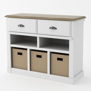 Ameriwood Entry Hall Storage Unit   Overstock.com Shopping - The Best Deals on Decorative Organizers