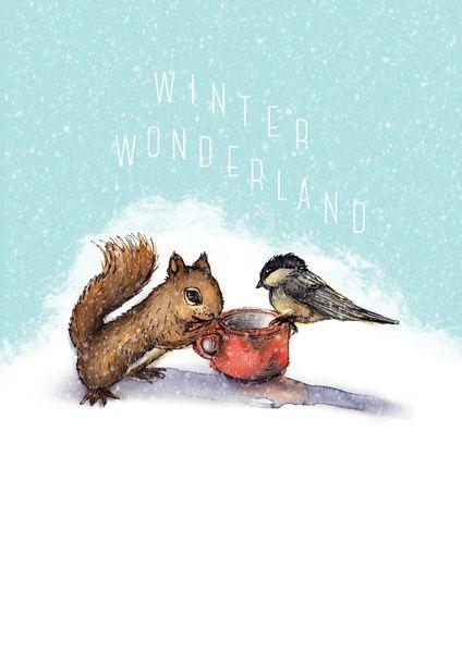 WINTER WONDERLAND Art Print by Dorc | Society6