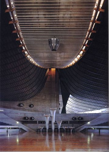 National Gymnasiums Kenzo Tange Tokyo 1964 2