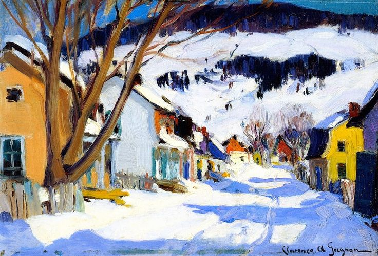 Arte!: Clarence Gagnon, a Québécois painter
