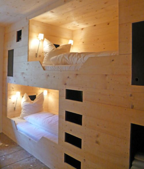 modern bunk beds! Wicked.