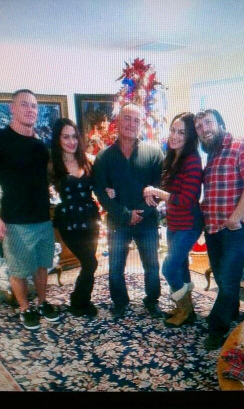 John Cena, Bellas, & Daniel Bryan