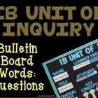 If you teach in an IB school you need to have an IB bulletin board.  Print and laminate these cute words to add some pizzazz to your board.  Words ...