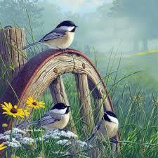 Resultado de imagen para pinturas de aves volando