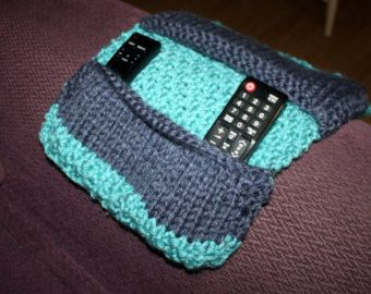 Remote Control Caddy Remote Holder / Case by LizziesLittleKnits
