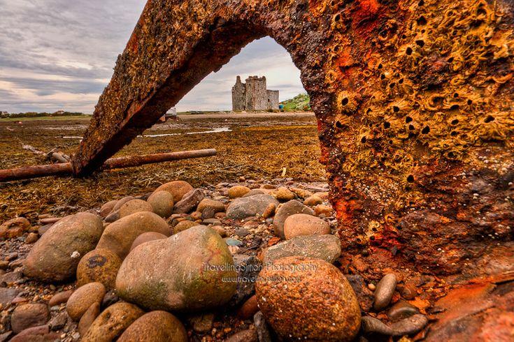 Anchor at Lochranza Castle