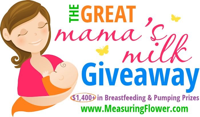 The Great Mama's Milk Giveaway – $1400 in Breastfeeding & Pump Prizes ends 11/4/14