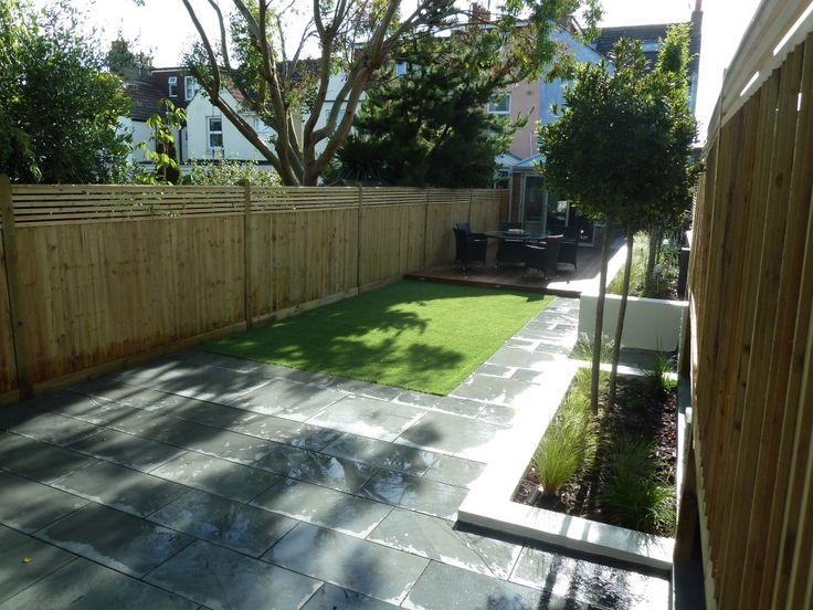 Garden Design Long Narrow design for long narrow garden - google search | hannah's garden
