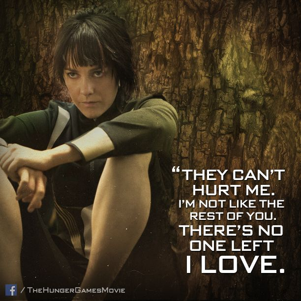 Nothing to lose... #District7's #JohannaMason goes at it alone. #CatchingFire