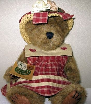 Everything Teddy Bear Catalog Pg 457: A Boyds Bear/Prudence Bearimore