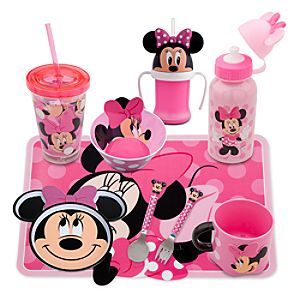 minnie mouse kitchen accessories disney minnie mouse meal time magic collection disney 7520