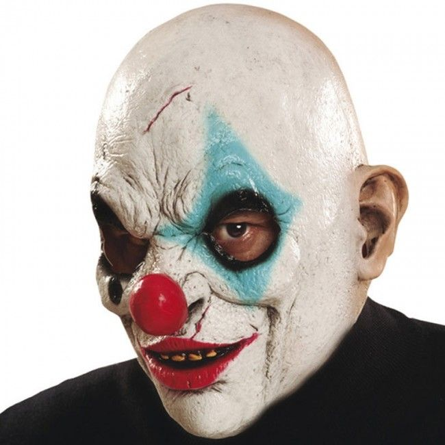 Masque Clown Zombie #Masques #halloween #killerclown