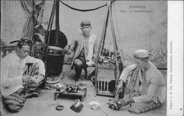 Penjual soto di surabaya ca.1910