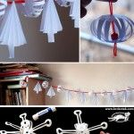 Paper Tree and Snowball GARLAND