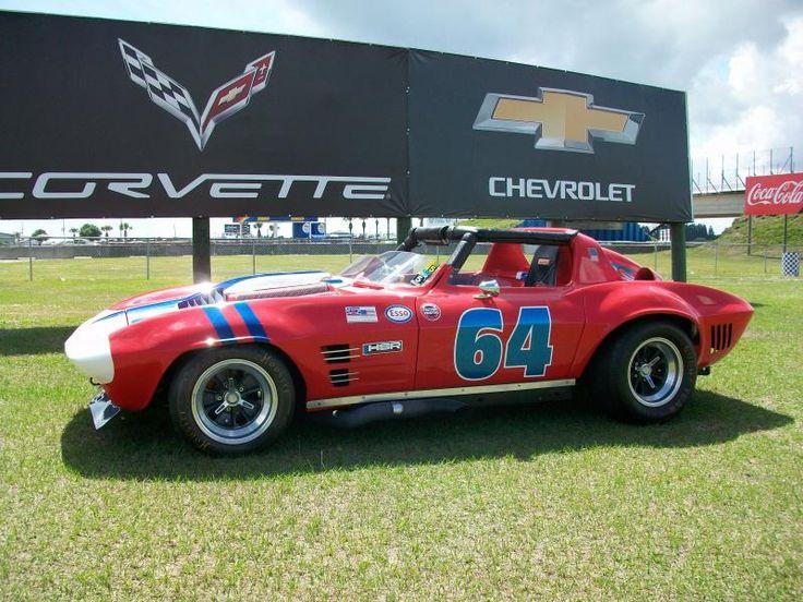 1964 vintage scca corvette race car for sale