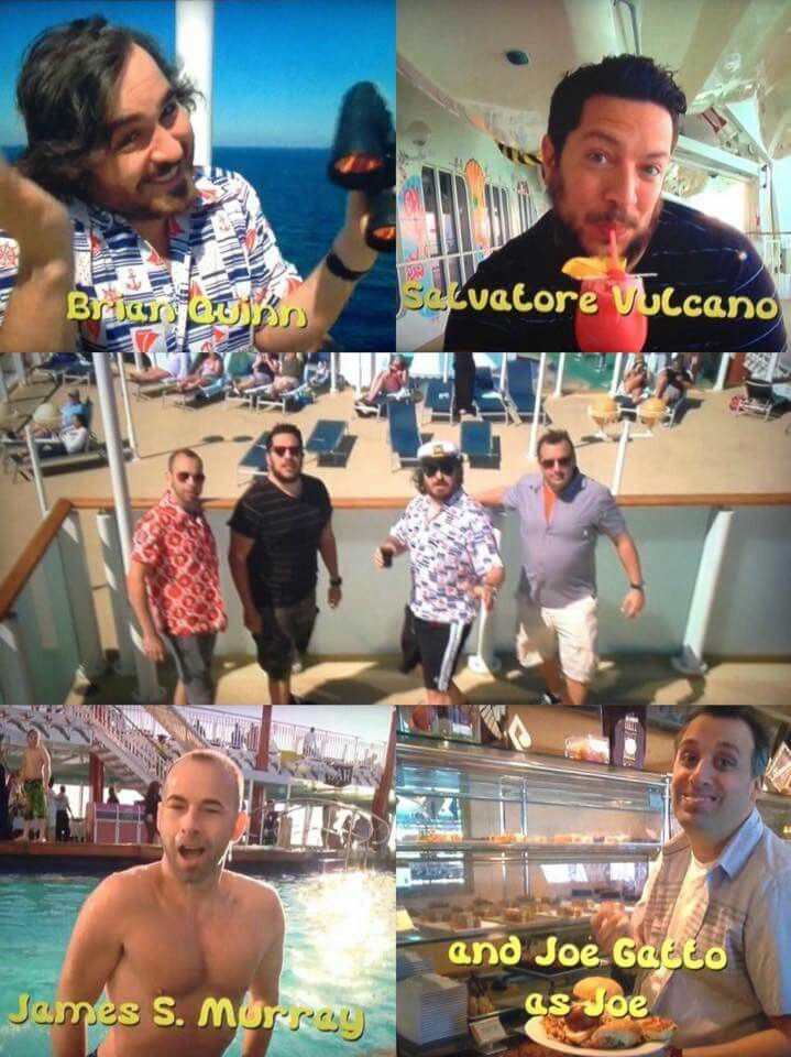 Impractical jokers its like an episode of the love boat that went soooo right