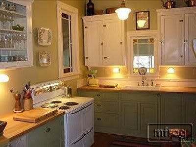 Different colored kitchen cabinets for Different color kitchen cabinets