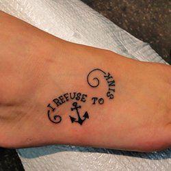 ...   Anchor tattoo quotes Anchor thigh tattoo and Anchor rib tattoos