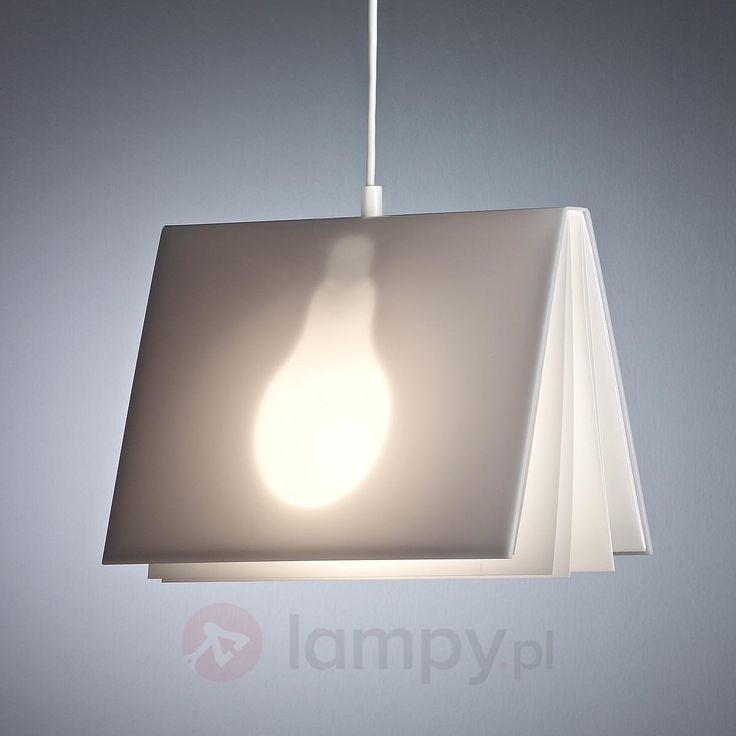 Lampa wisząca BookLight Vincenza Warnkego 9030085