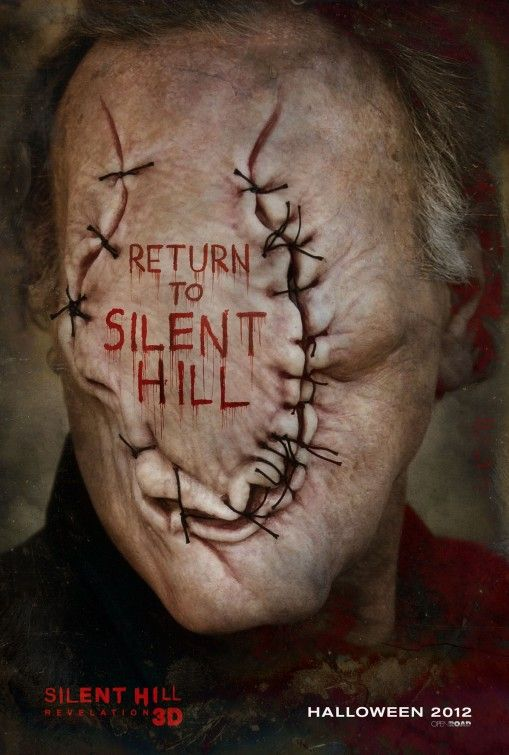 Oy! I'm already scared!...Silent Hill: Revelation 3D Movie Poster - Internet Movie Poster Awards Gallery