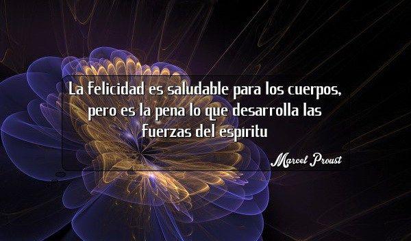 La felicidad Marcel Proust
