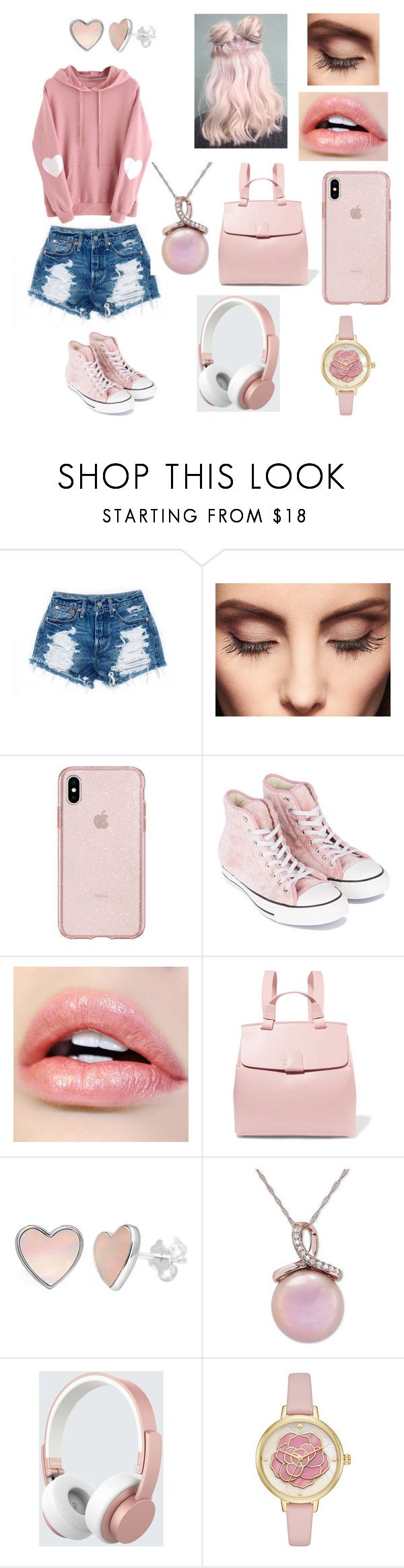 """""""#15"""" by annakittey on Polyvore featuring Claire Evans, Converse, Nico Giani, Honora and Urbanista"""