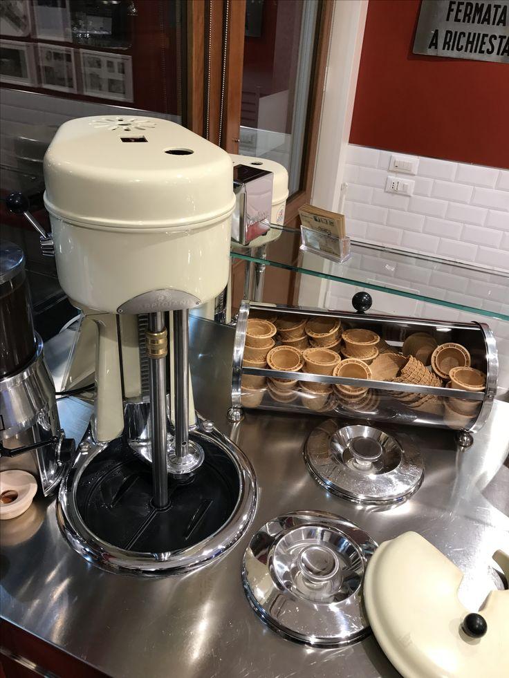 Vintage Carpigiani gelato machine #gelateriadabepi
