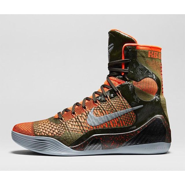 "Nike Kobe 9 Elite ""Sequoia"" release on 11/26/2014 for $225 via #KoFapp"